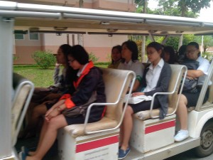 GEM car Mae Fah Luang University, Chiang-Rai, Thailand. (Foto: Yussak Anugrah)