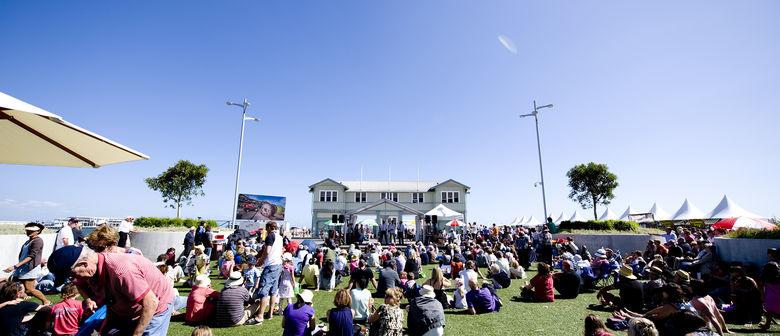 Suasana pengunjung Piers Festival 2016 di Melbourne Australia.